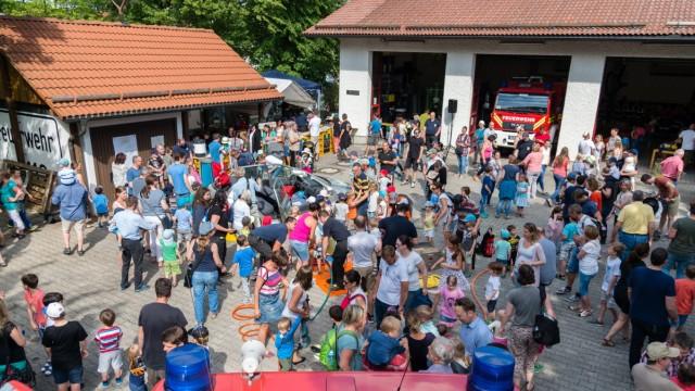 Freiwillige Feuerwehr Perlach 150-Jahr-Feier im Mai 2019