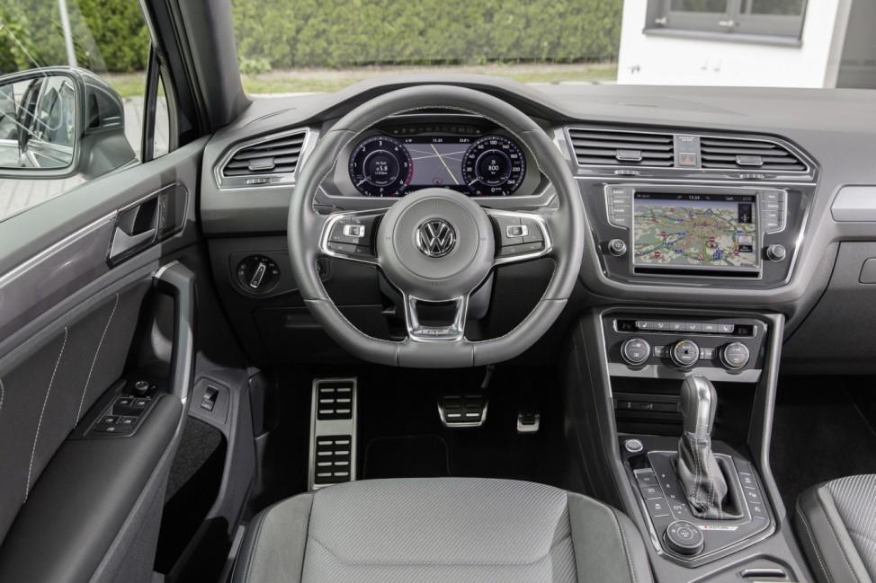 Volkswagen Tiguan R-Line; Der VW Tiguan