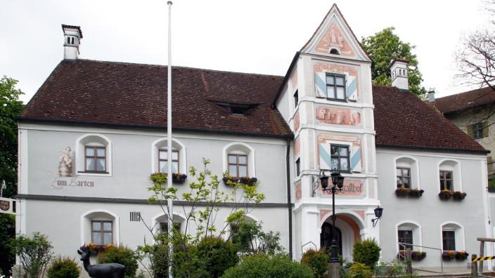Der Klostergasthof in Andechs eröffnet wieder nach einer Renovierung.