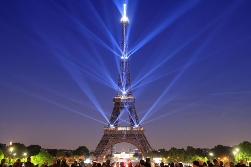 Eiffelturm Paris Frankreich Fotografieren Foto Fotoverbot