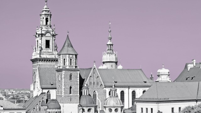Poland Krakow Wawel Cathedral PUBLICATIONxINxGERxSUIxAUTxHUNxONLY ABOF00384