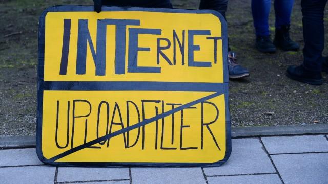 EU-Urheberrecht Upload-Filter