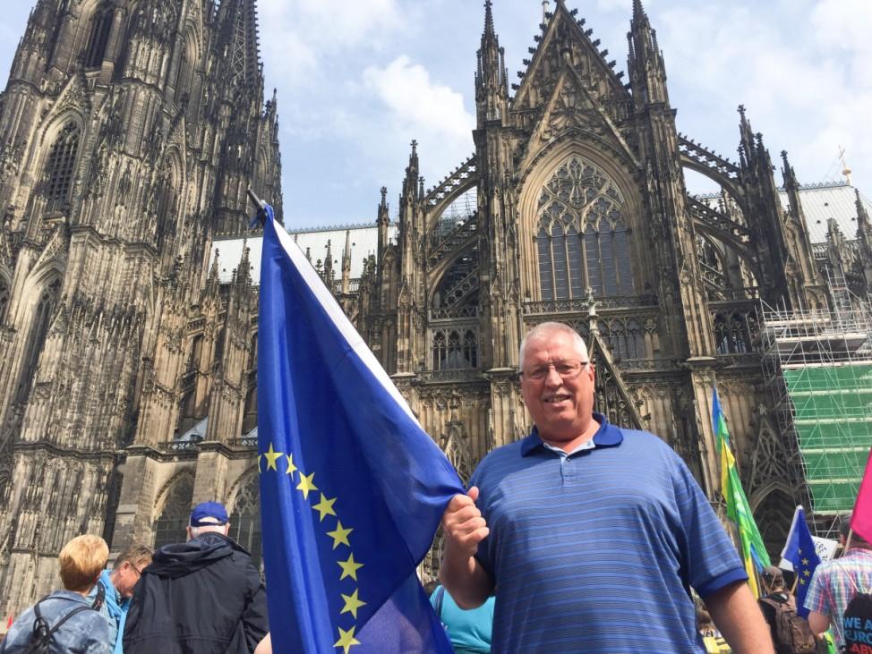 Demonstrationen für Europa - Köln