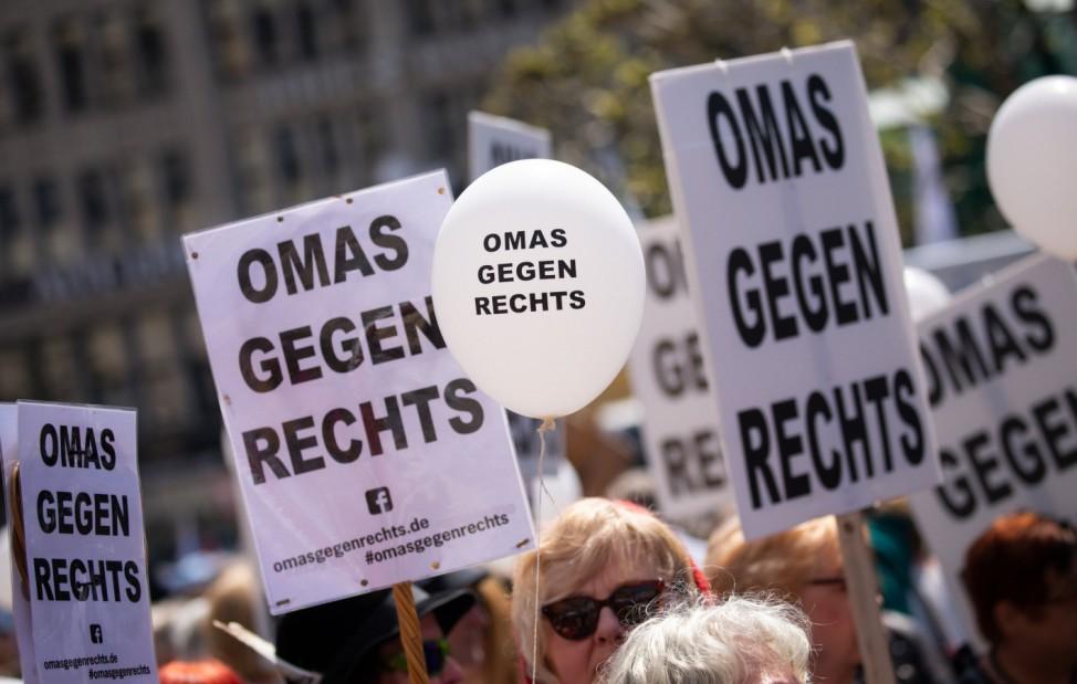 Demonstrationen für Europa - Hamburg