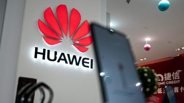 Huawei-Filiale in Peking