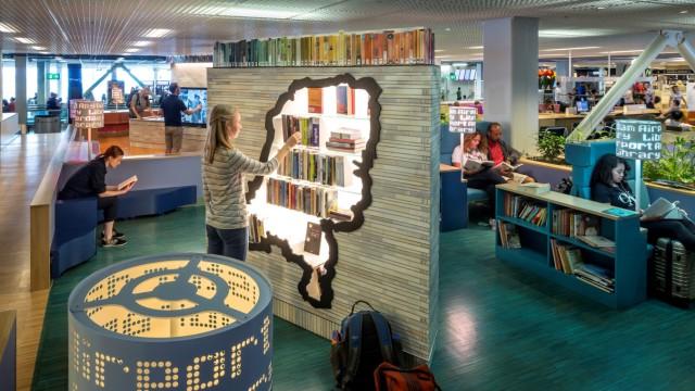 Airport Library Schiphol, Flughafen, Amsterdam