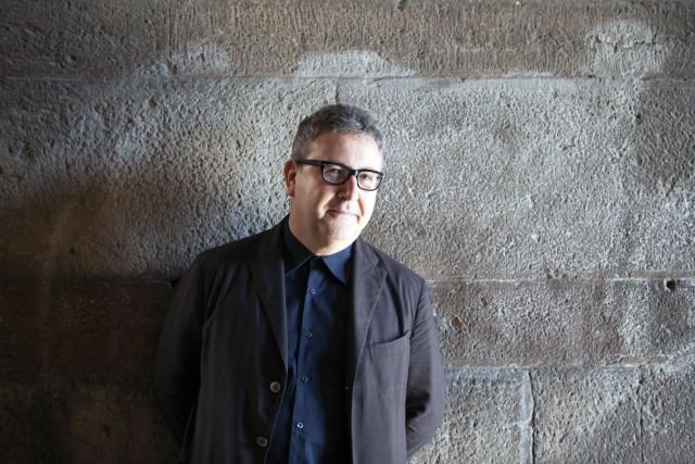 Portrait de l ecrivain italien Mario Fortunato 2014 Photographie AUFNAHMEDATUM GESCHÄTZT PUBLICAT