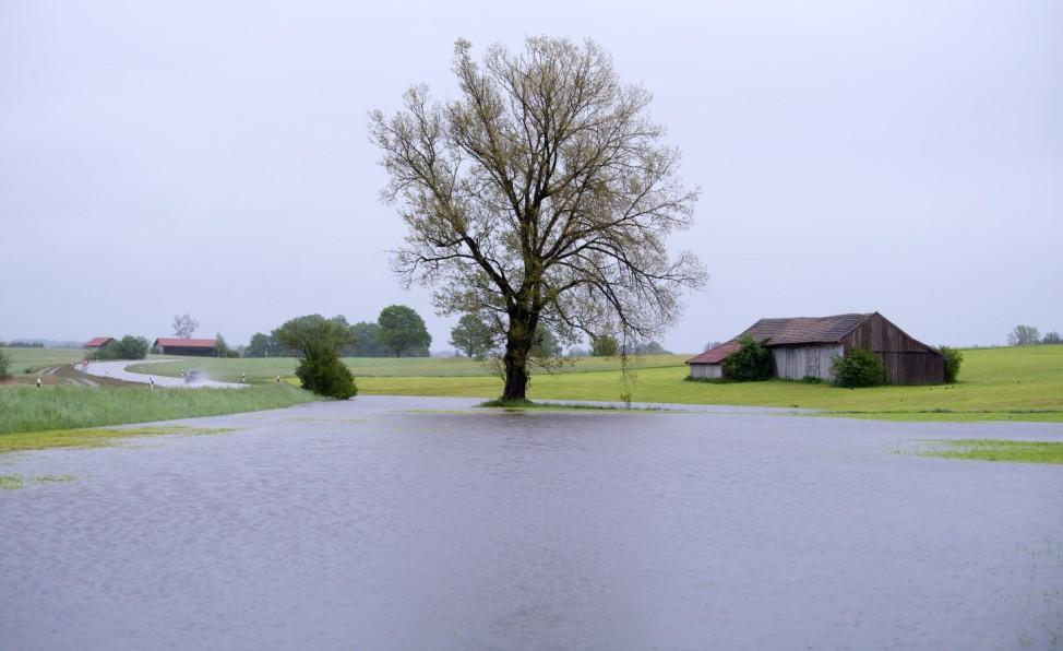 Dauerregen im Süden