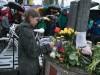 Mahnwache des ADFC: Unfallstelle, an der der 11-Jährige vom Lkw beim Rechtsabbiegen überfahren wurde: Corneliusbrücke / Erhardstraße