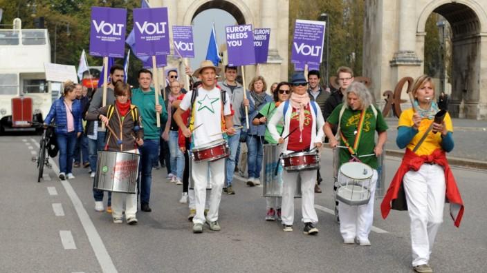 Demonstration gegen Altersarmut in München, 2018