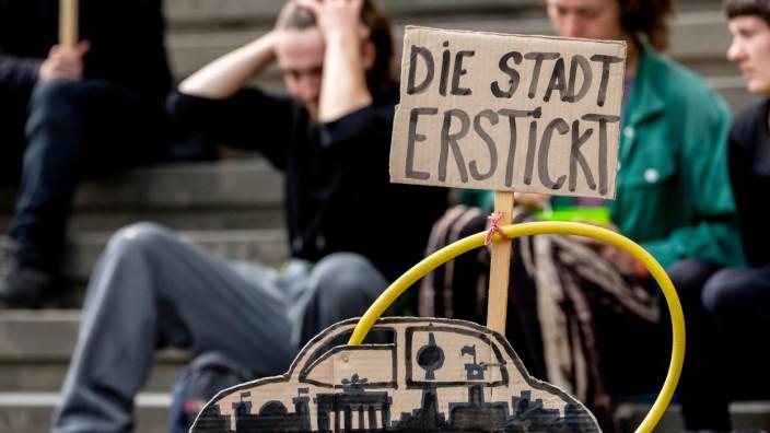 Klimawandel - Demonstration in Berlin 2019 für mehr Klimaschutz in Deutschland