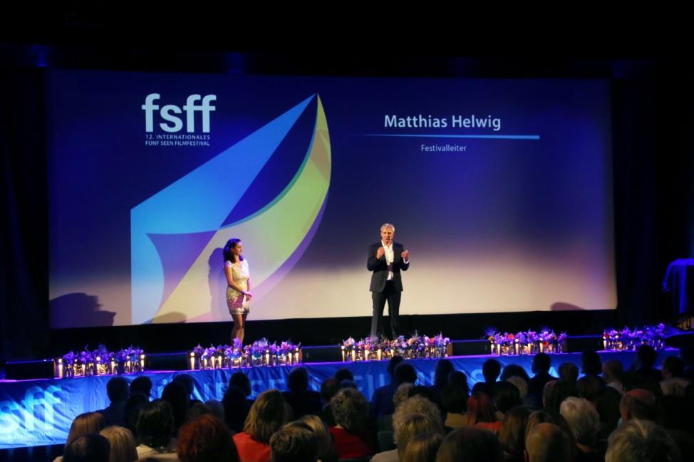 Eröffnung des Fünfseen-Filmfestivals fsff; In der Schloßberghalle