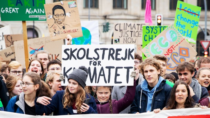 Klima-Demonstration 'Fridays for Future' Berlin