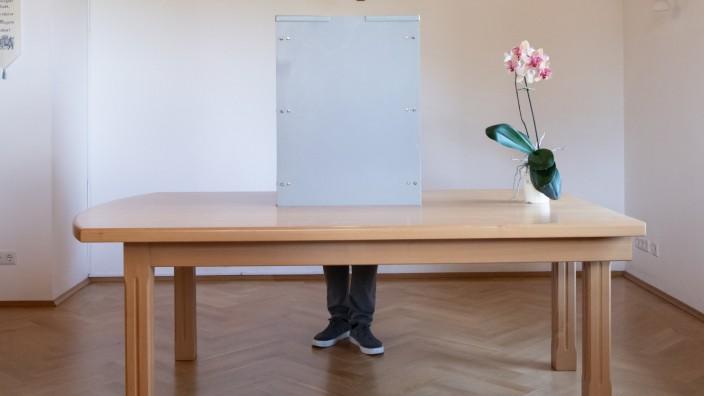 Europawahl - Stimmabgabe Weber