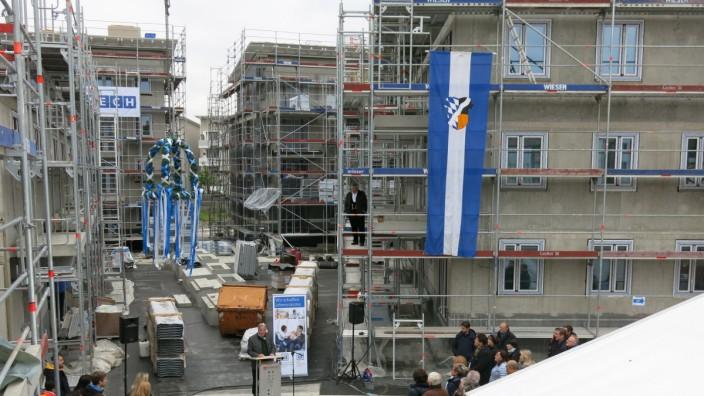 Baugesellschaft Richtfest Ottobrunn