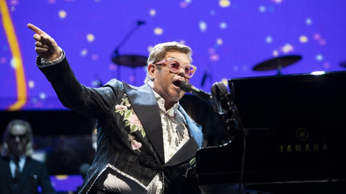 Elton John Olympiahalle Muenc hen 26 05 2019 *** Elton John Olympic Hall Munich 26 05 2019
