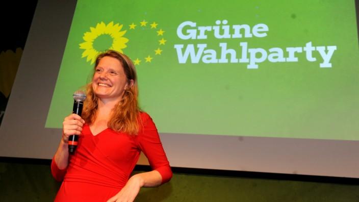 Grüne in München feiern Erfolg bei der Europawahl, 2019