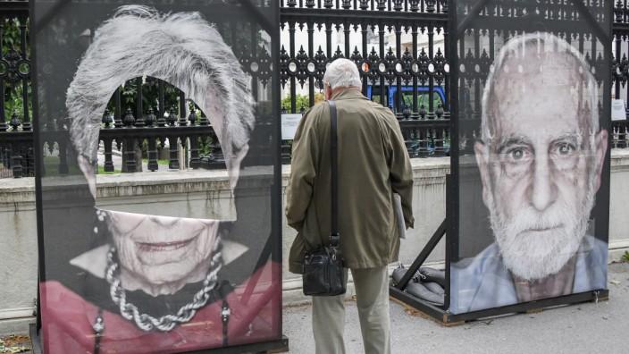 Ausstellung 'Gegen das Vergessen' in Wien
