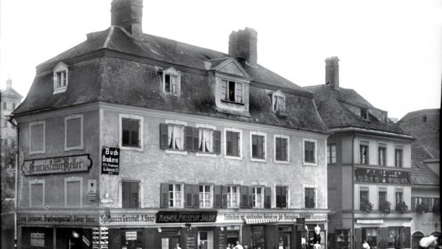Historische Ansicht Lilienstraße