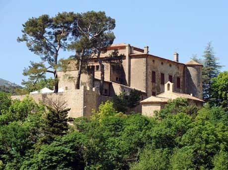 In Vauvenargues bei Aix-en-Provence in Frankreich steht das Schloss, in dem Picasso einige Jahre lebte und arbeitete.