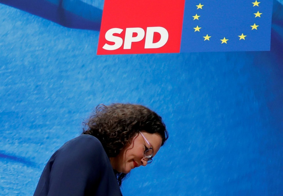EX-SPD-Chefin Andrea Nahles