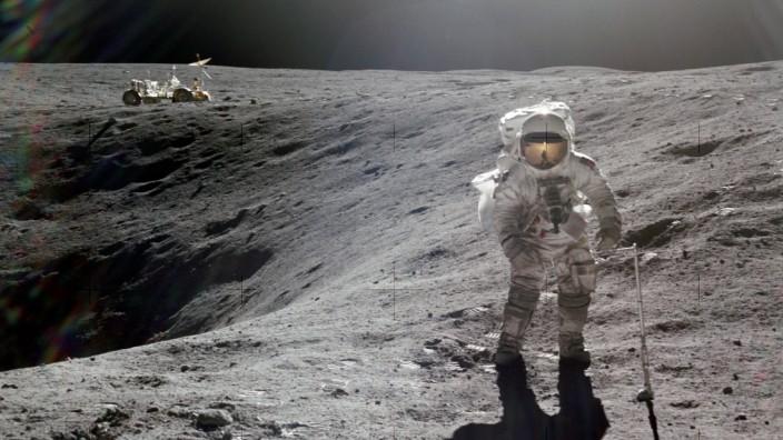 Raumfahrt: 1972 erkundete Charles Duke als jüngster Astronaut den Mond.