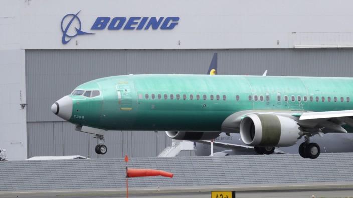 Boeing 737 Tragfläche Defekt