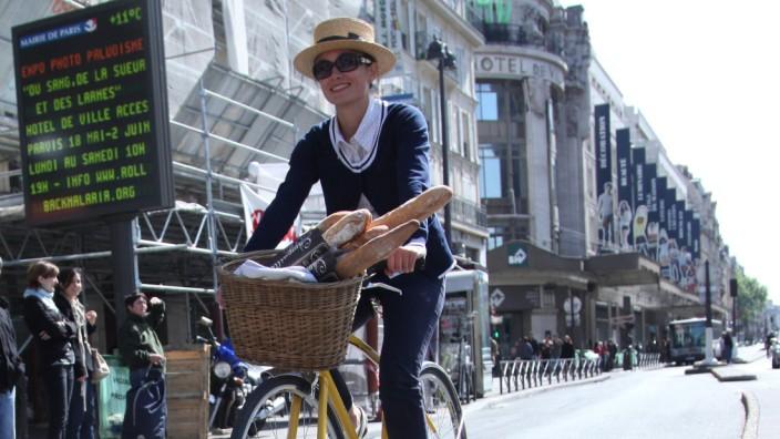 Radfahren in Paris