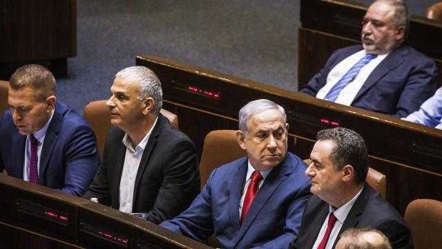 Israels Parlament debattiert über Auflösung und Neuwahl