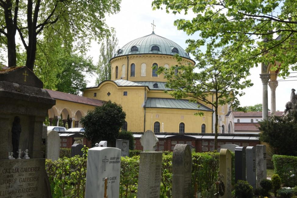 Westfriedhof in München, 2013