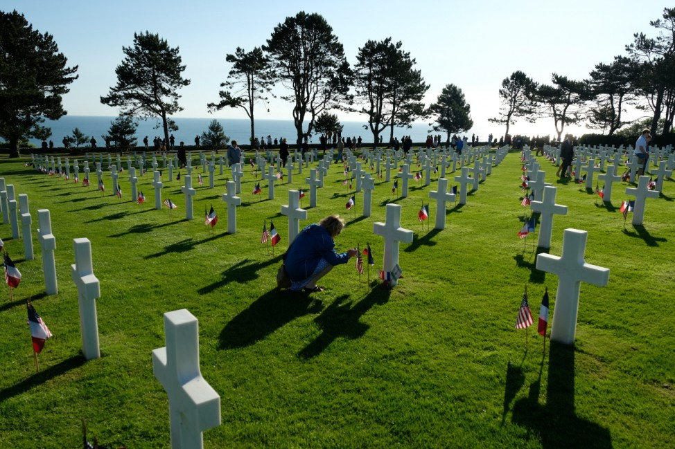 Normandy American Cemetery Holds D-Day 75th Anniversary Ceremony