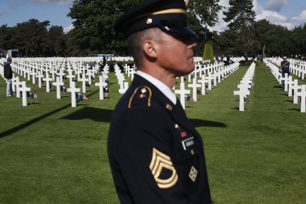 D-Day - US-Militärfriedhof Colleville-sur-Mer