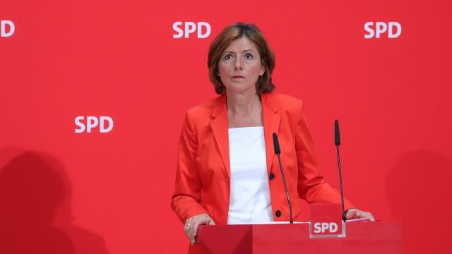 Malu Dreyer, eine von drei kommissarischen SPD-Vorsitzenden