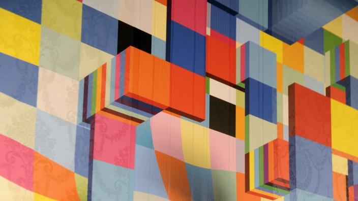 """Wohnen: Mit Tapeten können Wände zu Kunstwerken werden, wie die """"Brickollection"""" zeigt, ein Entwurf des Münchner Designstudios Markus Benesch Creates."""