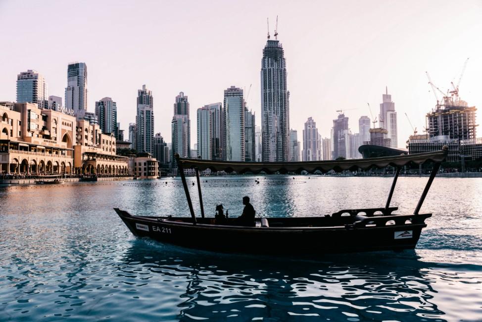 Dubai Vereinigte Arabische Emirate Fernreise Arabien Trinkgeld