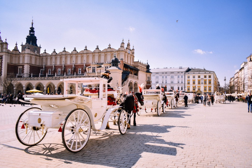 Krakau Polen Trinkgeld Krakow poland Städtereise