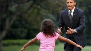 Sasha Obama, Barack Obama, AP