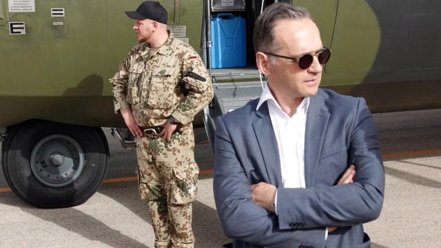 Außenminister Maas in Jordanien