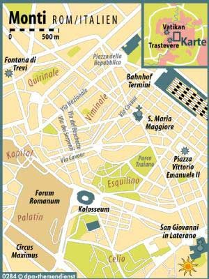 Europa Italien Rom Monti, Hauschildt/dpa