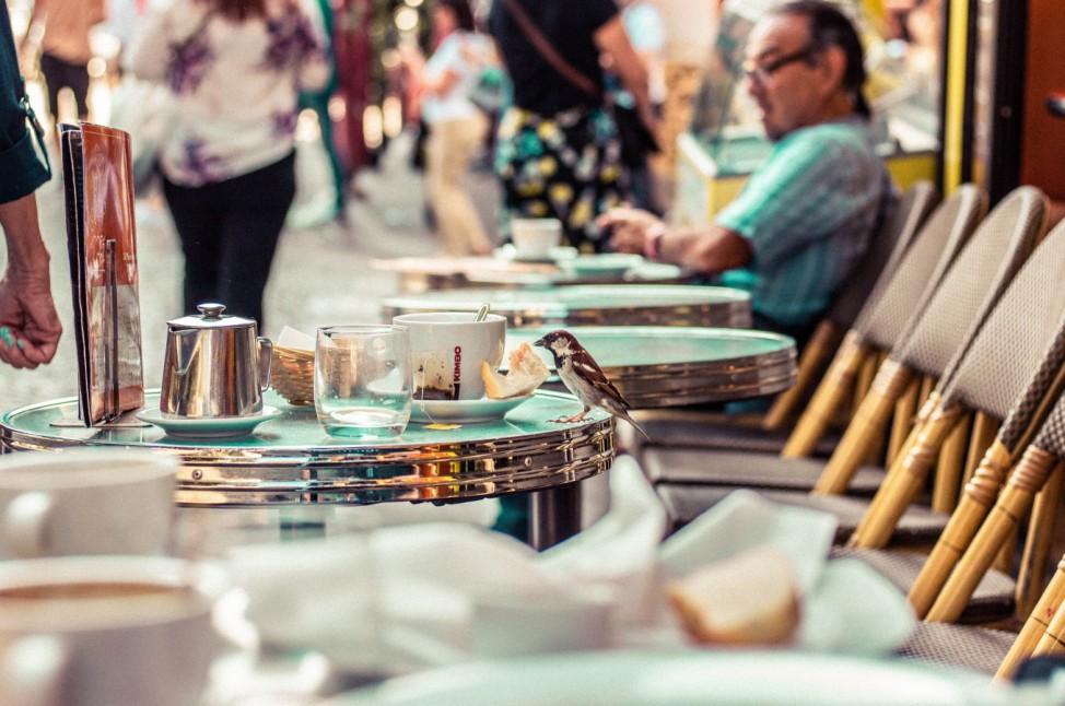 Trinkgeld Tip Frankreich France Paris Montmatre Restaurant