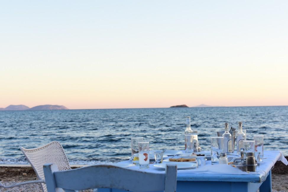 Trinkgeld Griechenland tip greece Bar Restaurant Urlaub Strand