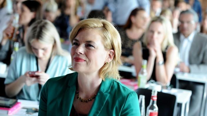 Julia Klöckner beim Plan-W-Kongress in Berlin, 2019