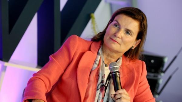 Ann-Kristin Achleitner beim Plan-W-Kongress in Berlin, 2019
