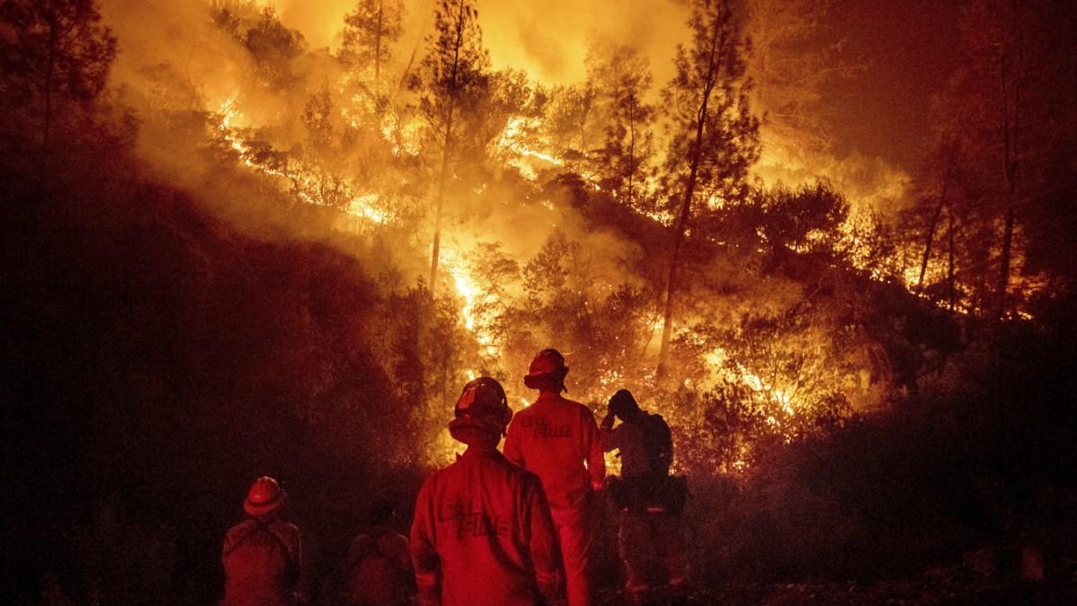 USA: Rancher verursachte größtes Feuer Kaliforniens