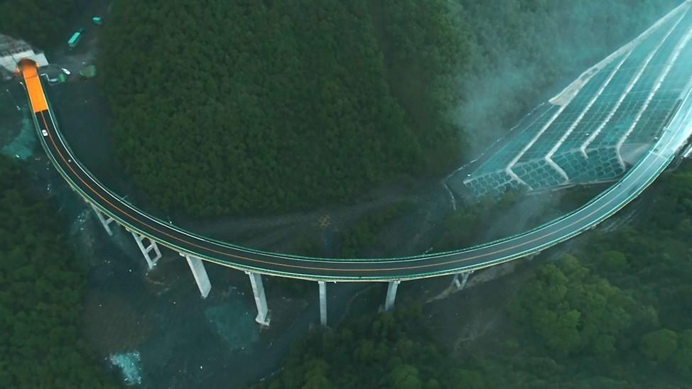 Neue Autobahn in China freigegeben
