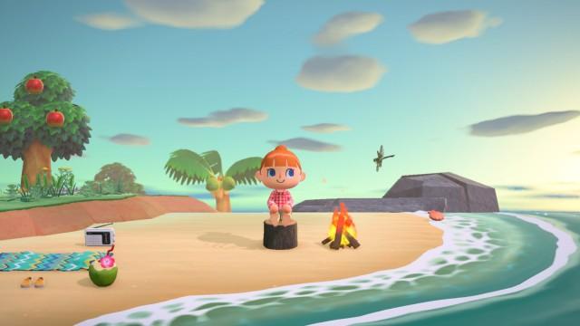 Animals Crossing New Horizons Nintendo Screenshot