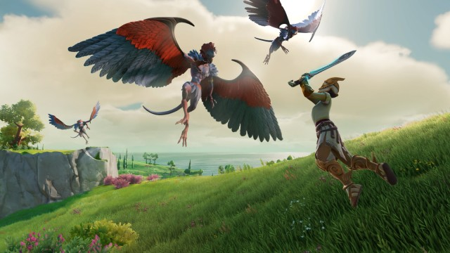Ubisoft Screenshot Gods and Monsters, Roller Champions, Watch Dogs Legion