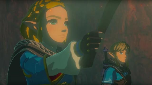 Screenshot Zelda Breath of the Wild Nintendo