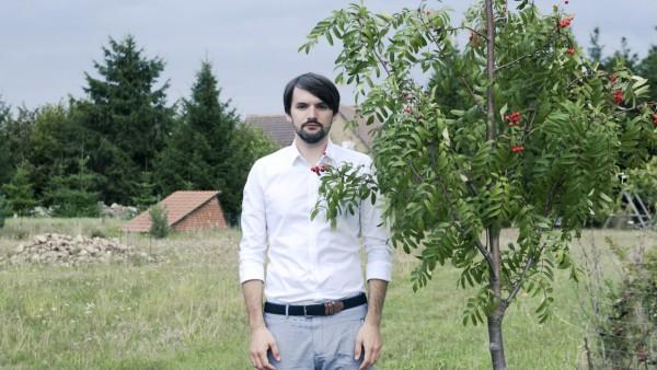 Der Schriftsteller Sasa Stanisic