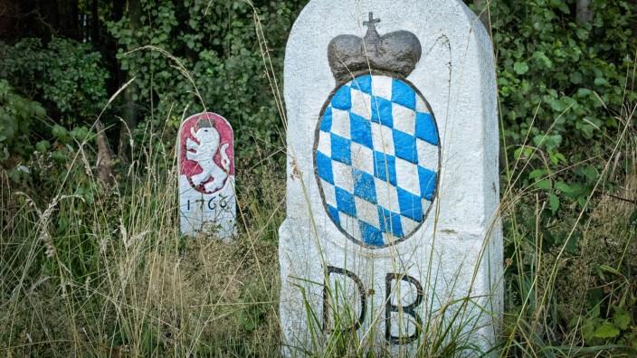 Bayerisch-Tschechische Grenze bei Furth im Wald, 2015